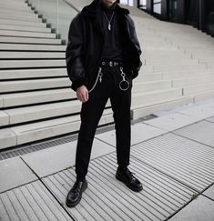 154 Likes, 1 Comments - Streetwear Mens Fashion, Fashion Outfits, Color Mixing, Street Wear, Black Jeans, Bomber Jacket, Normcore, Casual, How To Wear