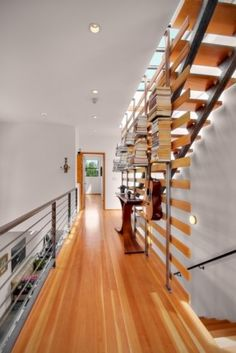 I love narrow corridors. I think I would even go so far as to seek one out in a potential house.
