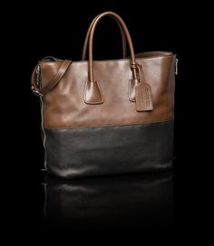 Prada tote bag (Fancy shmancy, but again, this is the kind of style I like)