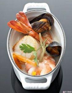 Staub Oval Mini Cocotte - White Fish Recipes, Seafood Recipes, Gourmet Recipes, Healthy Recipes, French Dishes, French Food, Cocotte Recipe, Fish Dishes, Fish And Seafood