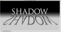 Photoshop text perspective shadow effect. Image © 2010 Photoshop Essentials.com.