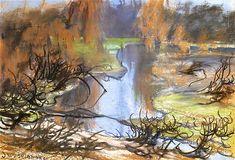 The Athenaeum - Landscape (Stanislaw Wyspianski - )