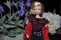Barbie de la Comparsa de Contrabandistas de las Fiestas de Moros y Cristianos de Elda (Alicante)