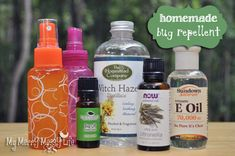 Homemade Bug Repellent Recipe - all natural and deet-free!