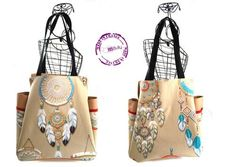 """Bully Bag """"Attrape-rêves"""" Creations, Reusable Tote Bags, Inspiration, Biblical Inspiration, Inhalation, Motivation"""