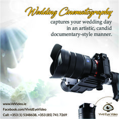 A Wedding Cinematographer transforms the wedding video into a classic wedding movie by taking breathtaking shots of your wedding day and combining them to form a unique storyline. #vivideyevideo #videography #weddingvideographer #weddingfilm #cinematography