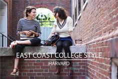 East Coast College Style: Harvard