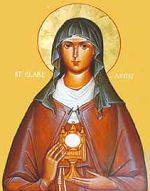 CLARE OF ASSISI NUN (11 AUGUST 1253)