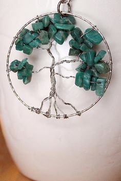 Tree of life necklace DIY