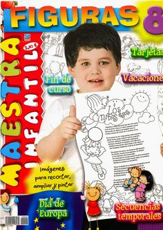 ENLACES DE PICASA: FIGURAS MAESTRA DE INFANTIL Vocabulary, Kindergarten, Album, How To Plan, Signs, Carrera, Magazines, Children's Magazines, Activities