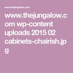 www.thejungalow.com wp-content uploads 2015 02 cabinets-chairish.jpg