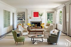 White Fireplace Inspiration Photos | Architectural Digest