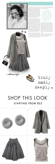 """""""truly madly deeply."""" by stardustnf ❤ liked on Polyvore featuring mode, Karen Kane, Trilogy, Rochas, Lanvin et Ollio"""
