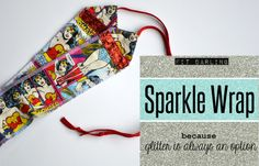 Wonder Woman Sparkle Wrap Crossfit Wrist Wrap by DarlingDeuce, $25.00