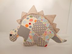 Patchwork Dinosaur Plushie #pinparty