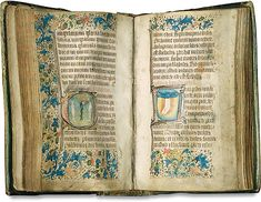 Book of Hours (Sarum use), England, c. mid-15th century, vellum page