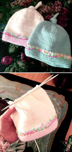 Tegan Baby Hat with Top Knot – Free Pattern- – knithat.decorhous…- – – Tegan Baby Hat with Top Knot – Free Pattern- – knithat.decorhous…- – – ideen Tegan Baby Hat with Top. Baby Knitting Patterns, Baby Hats Knitting, Knitting For Kids, Baby Patterns, Free Knitting, Knitting Projects, Knitting Ideas, Knitted Hats Kids, Start Knitting