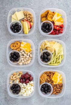 These 6 homemade snack packs under 250 calories will help keep you full with delicious crunch and sweetness all in convenient to go snack packs ad healthy healthysnacks snackpack healthyliving onthego health healthy best hummus Healthy Snacks To Buy, Snacks For Work, Healthy Meal Prep, Easy Snacks, Clean Eating Snacks, Healthy Eating, Healthy Sweets, Snack Boxes Healthy, Healthy Filling Snacks