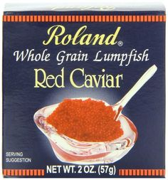 Roland - Imported Red Caviar, (2)- 2 oz. Jars *** New and awesome product awaits you, Read it now : : Quick dinner ideas