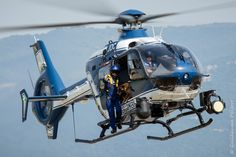 French Police H135 helicopter, Photo : Guillaume Pelfort