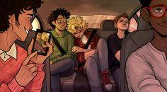 les amis road trip