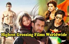 Here is the list of Bollywood top worldwide grossers films that have made a business of more than 200 crores in worldwide.bollywood top 10 worldwide grosser