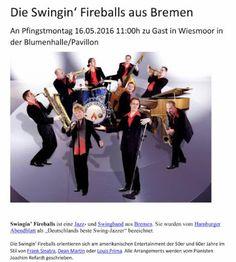 Wiesmoor-info: Jazz-Frühschoppen 2016