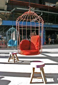 Hangstoel #vogelkooi