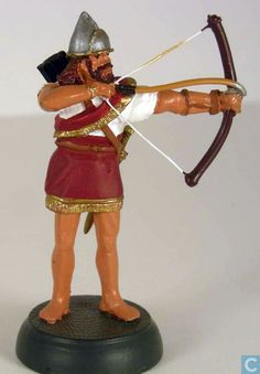 Toy soldiers - Almirall Palou - Assyrian archer