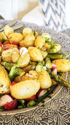Salad Recipes, Healthy Recipes, Healthy Foods, Chutney, Potato Recipes, Potato Salad, Grilling, Picnic, Salads