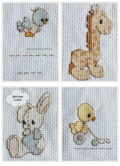 crossstitch   Cross Stitch Cute Animals Patterns