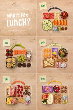 Bento Box Lunch Ideas: 6 Easy (and Insta-worthy!) options 2019 Back to school recipe inspo and 6 bento box lunch ideas! The post Bento Box Lunch Ideas: 6 Easy (and Insta-worthy!) options 2019 appeared first on Lunch Diy. Whats For Lunch, Lunch To Go, Lunch Meal Prep, Healthy Meal Prep, Healthy Kids, Healthy Nutrition, Back To School Lunch Ideas, School Lunch Box, Lunch Ideas For Teens