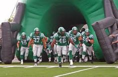 Hard work and dedication brings you to this moment Football Is Life, Football Team, Bring Em Out, Go Rider, Saskatchewan Roughriders, Canadian Prairies, Saskatchewan Canada, I Am Canadian, Common Myths
