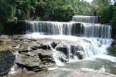 Seneca Mills Falls along the Keuka Outlet Trail between Penn Yan and Dresden, New York Mill Falls, Penn Yan, New England Fall, Girls Weekend, Niagara Falls, Wilderness, Places To See, Trail, Hiking