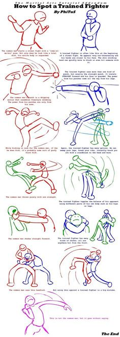 How To Spot A Trained Fighter by PhiTuS Ok you have to like this! How do you spot a train fighter? Looks to me after you have been knocked on your butt! Martial Arts Techniques, Art Techniques, Boxing Techniques, Fight Techniques, Survival Tips, Survival Skills, Drawing Tips, Drawing Reference, Systema Martial Art