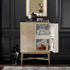 Mueble bar de estilo Hollywood Regency