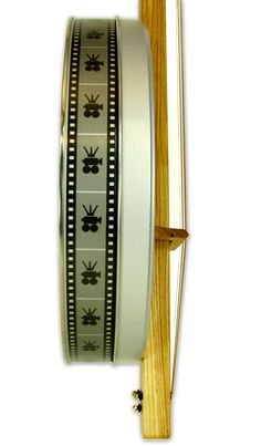 """C. B. Gitty Crafter Supply - """"Pure and Simple"""" 3-String Film Can Banjo, $69.99"""