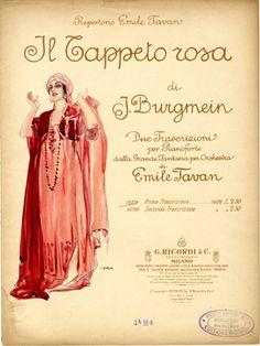 Il Tappeto Rosa, 1917 (ill.: Leopoldo Metlicovitz); ref. 10014