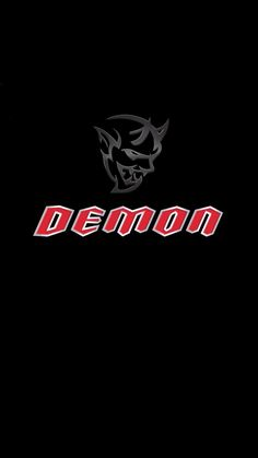 Dodge Demon Logo iPhone Wallpaper - Best iPhone Wallpaper