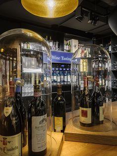 #globus #savoirvivre #departmentstore #store #deli Department Store, Wine Tasting, Deli, Liquor Cabinet, Spaces, Drinks, Bottle, Home Decor, Barbarian