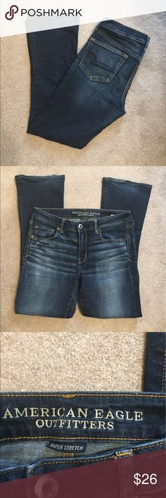 "American Eagle Skinny kick. Size 12. Inseam 29"" American Eagle Outfitters Jeans Boot Cut"