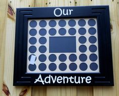 Black Poker Chip Display Frame fits 36 by CarvedByHeart on Etsy