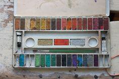 Cat paints. | by Gemma Clutter