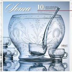 Punch Glass Bowl Set