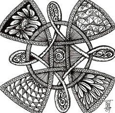 Celtic doodle by Stephanie Bergeron