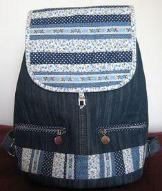 Моя коллекция: Джинсовый рюкзак по мк Насти Тарас