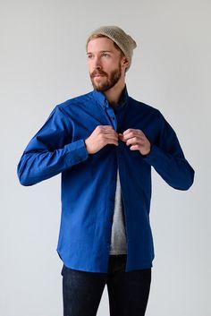Taylor Stitch Indigo Oxford Shirt