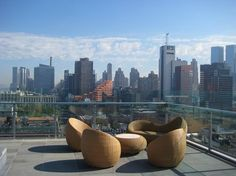 Six Rooftop Bars That Will Keep You High, Not Dry: Gothamist