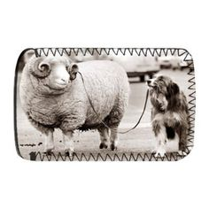 Dog taking a Ram for a walk on a lead! – Protective Phone Sock – Art247 – Standard Size « dogsiteworld.com