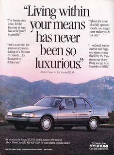 Hyundai+Sonata+GLS+Ad+Vintage+Magazine+Advertisement